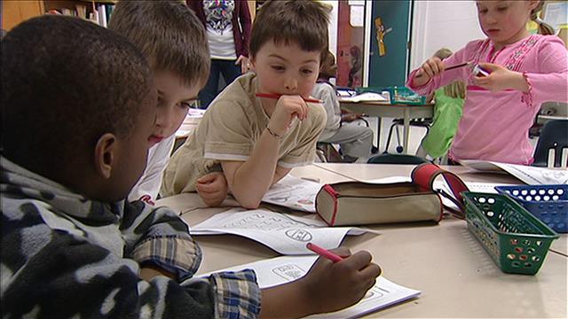 En 2008, l'École Précieux-Sang accueillait sa première vague de nouveaux arrivants