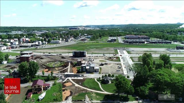 Cinq ans après la tragédie, le centre-ville de Lac-Mégantic reste encore à développer