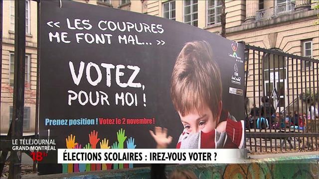 Élections scolaires : reportage d'Anne-Louise Despatie