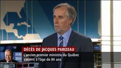 Des hommages à Jacques Parizeau : partie 1