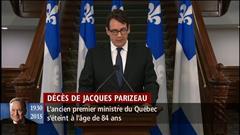 Des hommages à Jacques Parizeau : partie 2