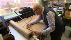 Un tailleur à l'ancienne