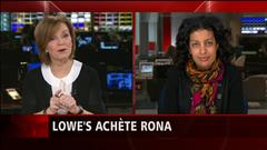 La ministre de l'Économie du Québec, Dominique Anglade, réagit à la vente de Rona