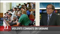 Violents combats en Ukraine