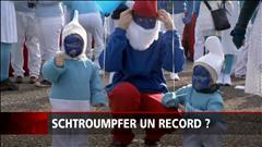 Un record de Schtroumpfs presque battu