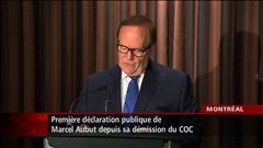 « J'ai énormément de peine » - Marcel Aubut