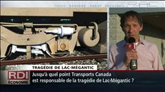 Tragédie de Lac-Mégantic : entrevue avec Pascal Hallé, président de la Chambre de commerce région Mégantic.