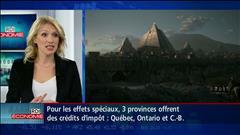 Les studios d'effets spéciaux à Montréal