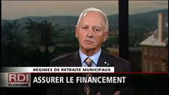 Régimes de retraite municipaux - Entrevue avec Alban D'Amours, président Comité sur l'avenir des régimes de retraite