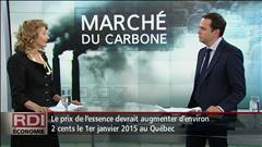 Essence et taxe carbone - Entrevue avec Hélène Lauzon