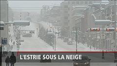 La tempête frappe fort en Estrie, rapporte Marie-Laurence Delainey