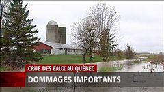 Les inondations ont un impact financier, explique Vincent Maisonneuve.