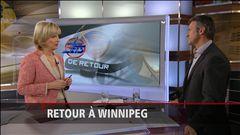 Retour à Winnipeg