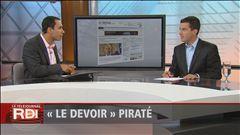 «Le Devoir» piraté, explique Mathieu Nadon
