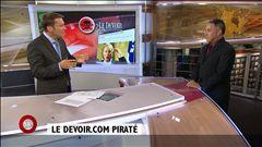 Patrice Roy s'entretient avec José M. Fernandez, professeur spécialisé en sécurité informatique à l'École polytechnique de Montréal, au sujet du piratage dont a été victime <i>Le Devoir</i>.