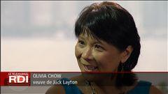 Marie-Christine Valois résume les grandes lignes de l'entrevue d'Olivia Chow.