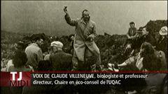 Entrevue avec Claude Villeneuve, biologiste et professeur à l'UQAC
