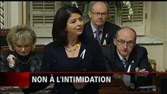 Sébastien Bovet relate que le débat sur l'intimidation a aussi eu des échos à l'Assemblée nationale.