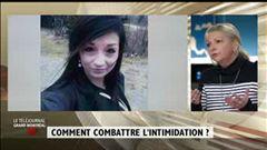 Patrice Roy discute d'intimidation avec Josée Bouchard, présidente de la Fédération des commissions scolaires du Québec.