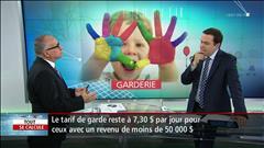 Hausse des tarifs de garderies - Entrevue avec le fiscaliste lAndré Boulais.