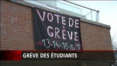 Plus de 20 000 étudiants seront en grève dans les prochains jours, rapporte Marie-Claude Guay.