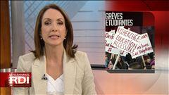 Des étudiants en colère manifestent à Montréal, rapporte Pascale Harrison-Julien.