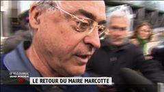 Le retour du maire Marcotte