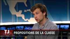 Anne-Marie Dussault reçoit Gabriel Nadeau-Dubois pour parler de la proposition de la CLASSE