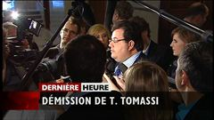 Tony Tomassi démissionne, rapporte Sébastien Bovet.