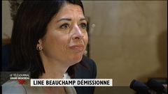 Line Beauchamp démissionne