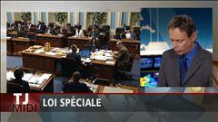 Denis-Martin Chabot explique le contenu du projet de loi spéciale