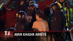 Les réactions politiques à l'arrestation d'Amir Khadir et une entrevue avec une porte-parole du Service de police de la Ville de Québec, Catherine Viel.