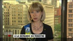 Isabelle Richer résume les travaux de la commission Charbonneau.
