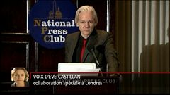 Les explications d'Ève Castillan à Londres
