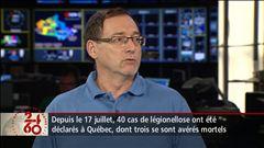 Entrevue avec le Dr Richard Marchand, microbiologiste et infectiologue à l'Institut de cardiologie de Montréal