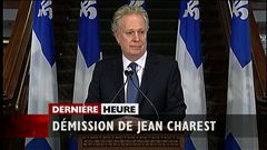 Démission de Jean Charest