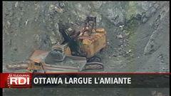 Amiante : volte-face d'Ottawa