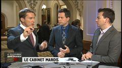 L'analyse de Sébastien Bovet, chef de bureau à Québec, de Michel David, chroniqueur politique au quotidien <i>Le Devoir</i> et d'Alec Castonguay, chef de bureau politique au magazine <i>L'actualité</i>.