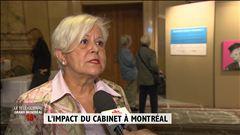 Montréal réagit au nouveau Cabinet - Le reportage de David Gentile