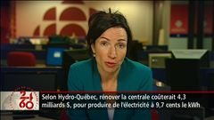 Anne-Marie Dussault s'entretient avec la ministre Martine Ouellet et la député libérale Danielle St-Amand