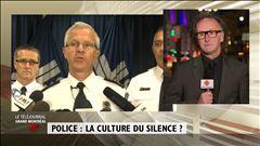 Deux des citoyens malmenés, Rudy Ochietti et Serge Lavoie, racontent leur mésaventure à Patrice Roy.