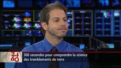 Entrevue avec Simon Gervais, sismologue et directeur de l'Observatoire de géophysique du Collège Jean-de-Brébeuf.