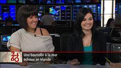 Anne-Marie Dussault s'entretient avec Charlaine Dalpé et Claudia Garneau