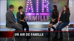 La famille Bonneau-Larochelle en entrevue