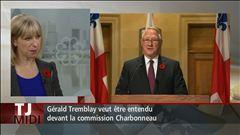 Isabelle Richer explique que le maire attend avec impatience d'aller à la commission Charbonneau