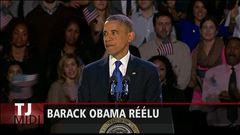 Réélection de Barack Obama : Frédéric Nicoloff fait le point
