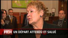 Démission Vaillancourt : réactions