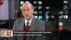 Sébastien Bovet s'entretient avec le chroniqueur François Brousseau et avec un résident de Gaza