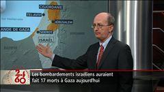 Le compte rendu de notre correspondante Ginette Lamarche à Tel-Aviv et les explications de Jocelyn Coulon, directeur du Réseau Francophone de recherche sur les opérations de paix.