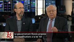 Entrevue avec Gérald Larose et Julius Grey